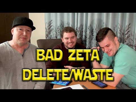 Zeta Wasted - Bad Idea/Competition | Star Wars: Galaxy Of Heroes - SWGOH