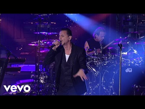 Depeche Mode &amp;#8211; Should Be Higher (Live on Letterman)