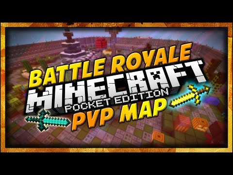 CAPTURE THE FLAG! | Minecraft PE | Battle Royale PVP | Multiplayer Minigame Map