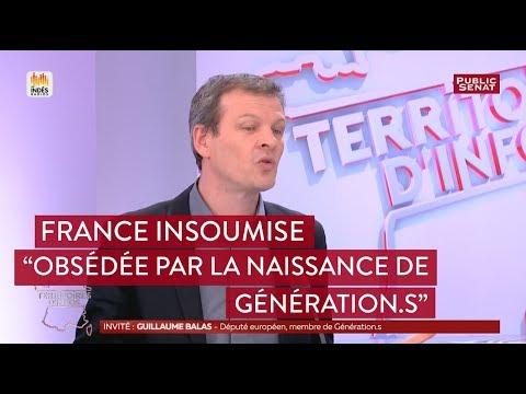 """France Insoumise est """"obsédée par la naissance de Génération.s"""" affirme Guillaume Balas"""