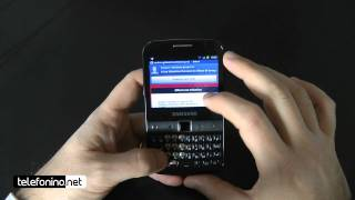 Samsung Galaxy Y pro videoreview da Telefonino.net