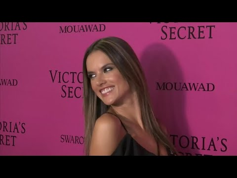 Victoria's Secret models celebrate show