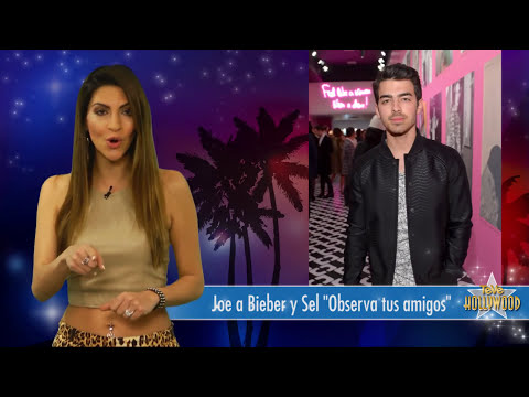 Joe Jonas Aconseja a Selena Gómez y Justin Bieber