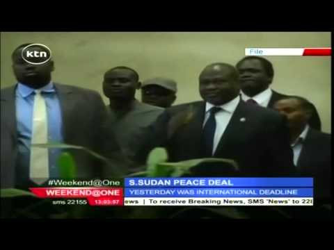 South Sudan's rebel chief Riek Machar misses international deadline to return to Juba