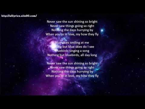 DIANA KRALL Blue Skies Lyrics