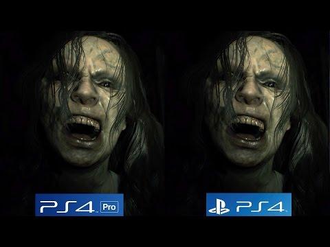 Resident Evil 7 Tech Analysis - PS4 PRO vs PS4 Graphics Comparison [4K/60fps]