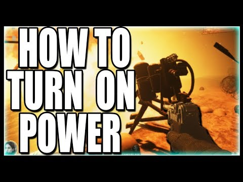 HOW TO TURN ON POWER IN COD WW2 ZOMBIES - THE FINAL REICH POWER TUTORIAL