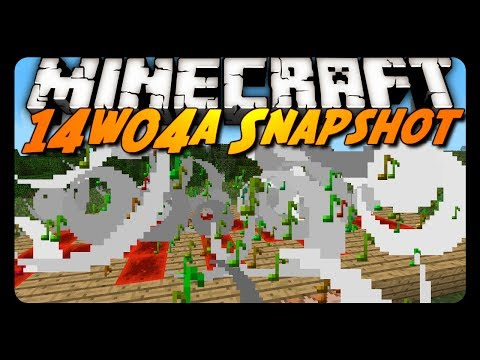 Minecraft Snapshot 14w04a Particle Command Item Frame Changes More