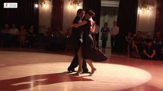 2016 Fernanda and Alejandro dance milonga to Campo Afuera at Cheltenham International Tango Festival