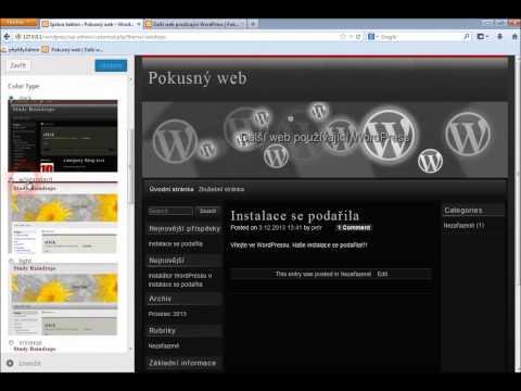 Šablony ve WordPressu