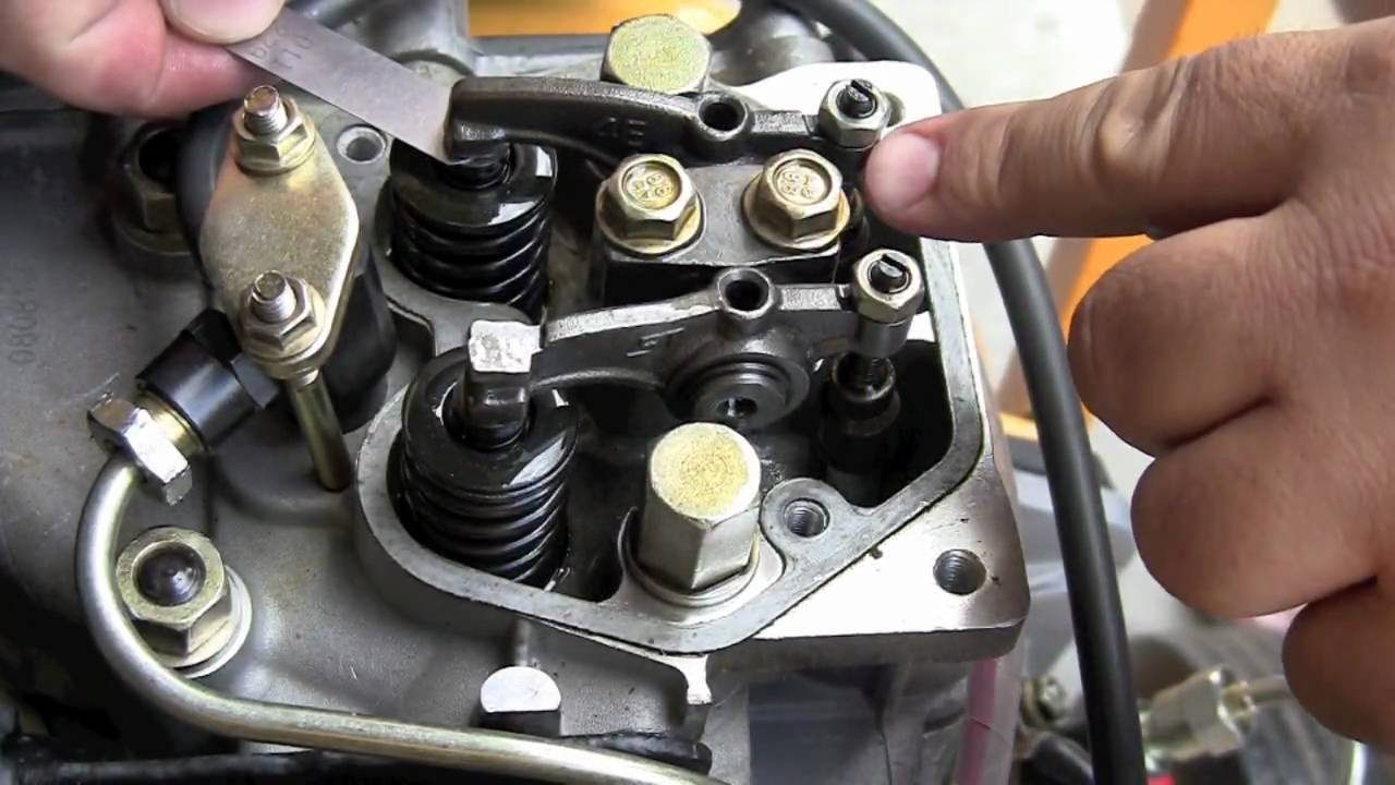 Valve Adjustment YouTube