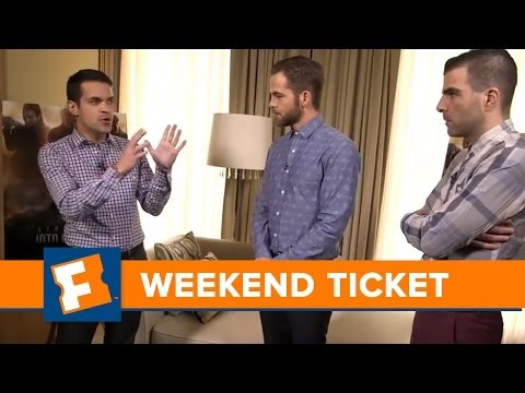 Star Trek Into Darkness - Special Guests: Chris Pine & Zachary Quinto - Week of 5/17/2013