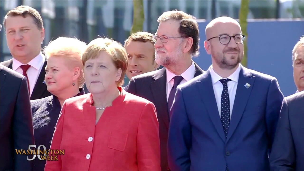From the Vault: President Trump's first NATO Summit