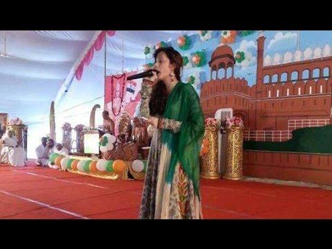 Singer Aakanksha Sharma Live Performance Sabki Baaratein Aayi Wedding Sangeet Event video