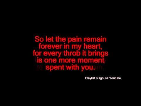 Basil Valdez - Let The Pain Remain