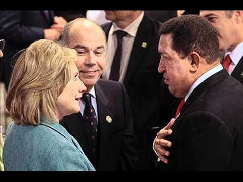Hugo Chavez, Hillary Clinton enjoy friendly chat at Brazil inauguration - slide show