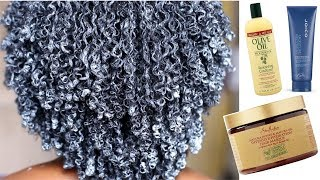 Super Moisturizing Winter Deep Conditioning Routine for Juicy Coils | 4A/4B/4C Hair