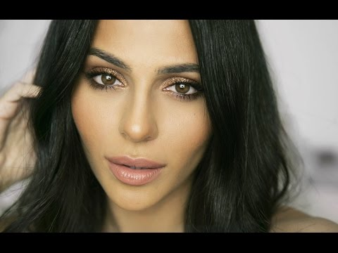 Copper Eye Makeup + Charlotte Tilbury Haul | Natural Makeup Tutorial | Teni Panosian