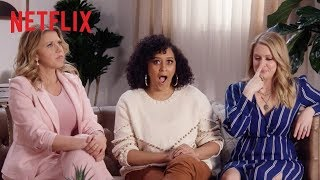 Tia Mowry, Melissa Joan Hart + Jodie Sweetin Play Never Have I Ever | Netflix