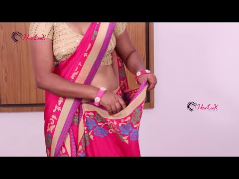 How to wear Saree Perfectly Step By Step | #NewLook