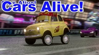 Cars 2: The video Game - Luigi Team Lightning - Ginza Sprint