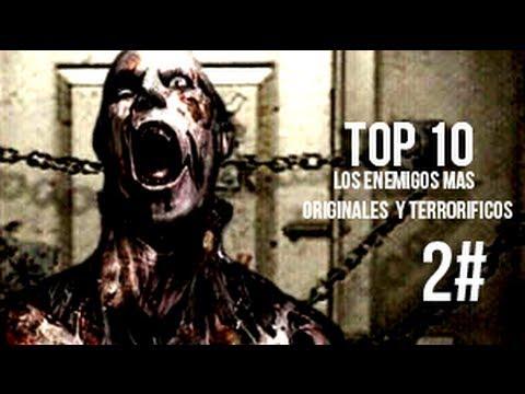 Top 10 - Enemigos mas escalofriantes y originales de los videojuegos. Parte 2-loquendo