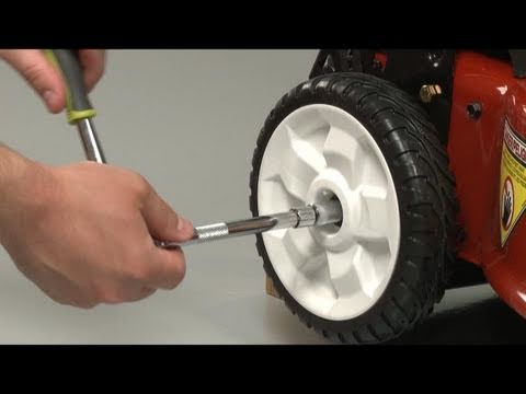 Mower Wheel Replacement – Toro Lawn Mower Repair (Part #115-4695)
