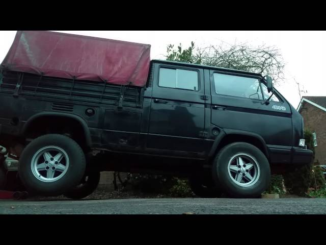 VW T3 Syncro 16 Tristar Viscous Coupling Test