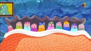 mười trên giường | vần điệu cho trẻ sơ sinh | bài hát của trẻ em | Baby Song | Ten In The Bed
