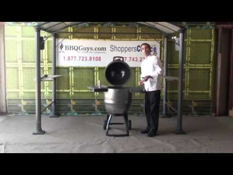 Bubba Keg Steel Kamado Charcoal Grill Component Overview