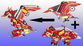 Dino Robot: Triceranodon, Pteranodon & Triceratops | Eftsei Gaming