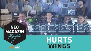 Hurts feat. Geekchester: Wings | NEO MAGAZIN ROYALE mit Jan Böhmermann - ZDFneo