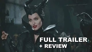 Maleficent 2014 Official Trailer 2 + Trailer Review : Angelina Jolie - HD PLUS