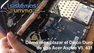 Cómo renovar tu Acer Aspire V5 431 con un SSD