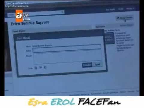 Esra Erol FaceFan Tanıtımı