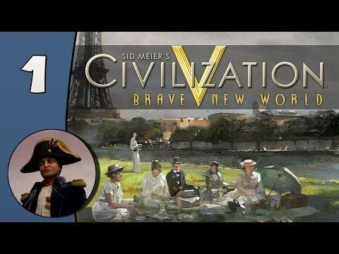 Civilization V Daily #2: France - Part 1