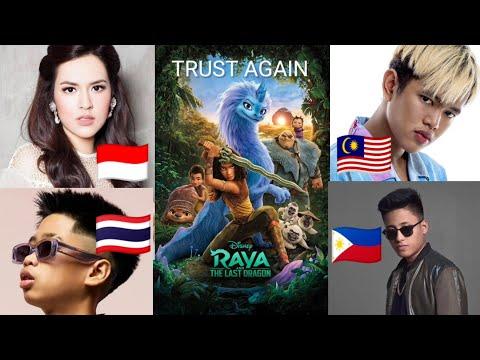 Download Lagu TRUST AGAIN (Lyric) - Raya And The Last Dragon   🇮🇩🇲🇾🇵🇭🇹🇭 Raisa, Yonnyboii, Matthaios, Sprite.mp3