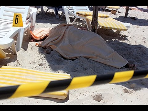 18+ Теракт в Тунисе глазами очевидца   The terrorist attack in Tunis