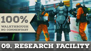 Quantum Break Walkthrough part 9 RESEARCH FACILITY (Hard, All Collectibles)
