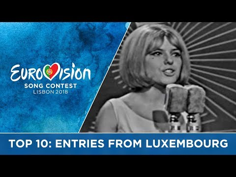 TOP 10: Entries from Luxembourg at the Eurovision Song Contest