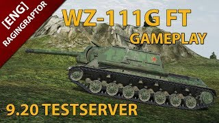 [ENG] World of Tanks: WZ-111G FT GAMEPLAY, NEW CHINESE T9 TANKDESTROYER