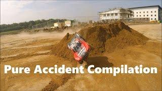 Traxxas Slash 4x4 Pure Accident Compilation