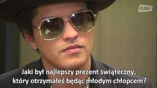 Bruno Mars: Ulubione prezenty