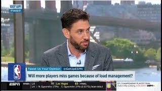 ESPN GET UP | Will more players miss games because of load management?