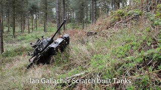 What Goes Up...! Must Come Down...! 1:6 Scale Tank & Personnel Carrier