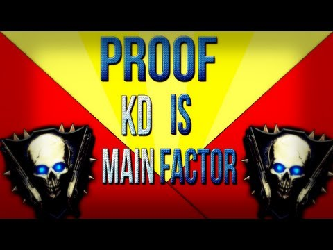 Black Ops 2 Zombies Ranking System l Proof KD is Main Factor NOT High Rounds!
