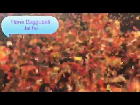 Rana daggubati craze in Japan/ Bhallaledeva thumbnail