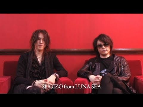 WORLD TOUR REBOOT - Message from RYUICHI and SUGIZO for GERMANY