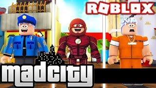 ROBLOX MAD CITY - HOW TO BECOME A SUPER VILLAIN