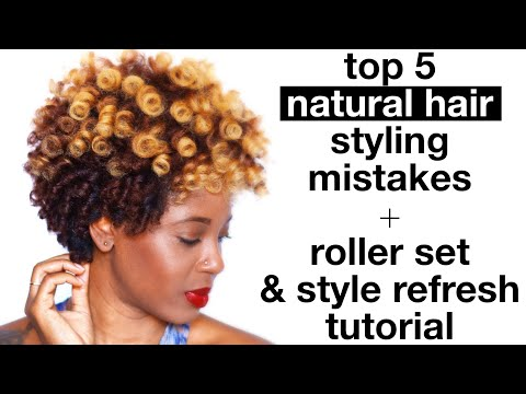Top 5 Natural Hair Mistakes | Q-Redew Review + Tutorial